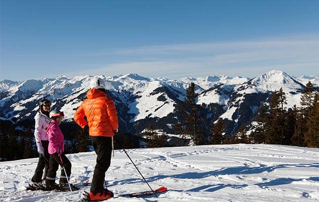 Kitzbühel Skifahrer