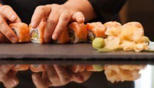 Sushi im A-Rosa Sylt