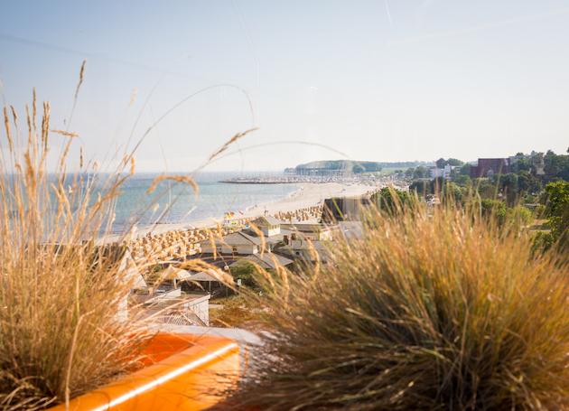 Strand-Landschaft Grömitz