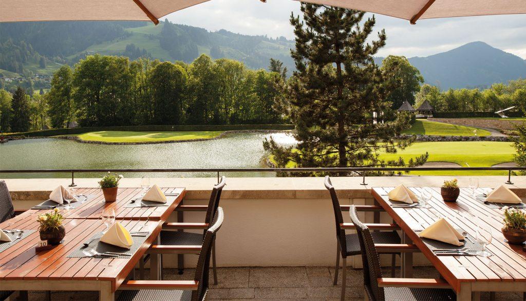 A-Rosa Kitzbühel Restaurant Terrasse