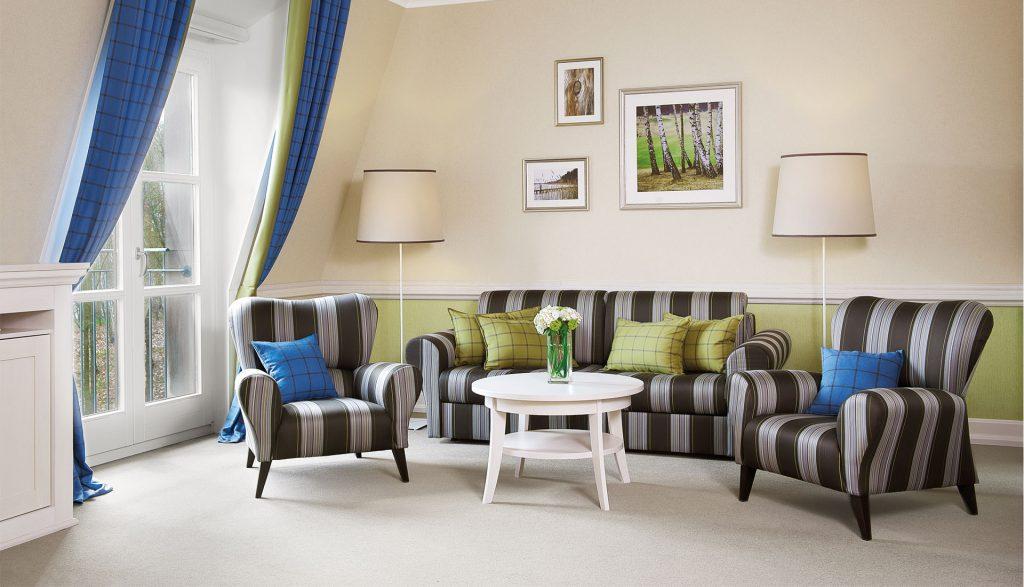 A-Rosa Scharmützelsee Junior Suite Wohnzimmer