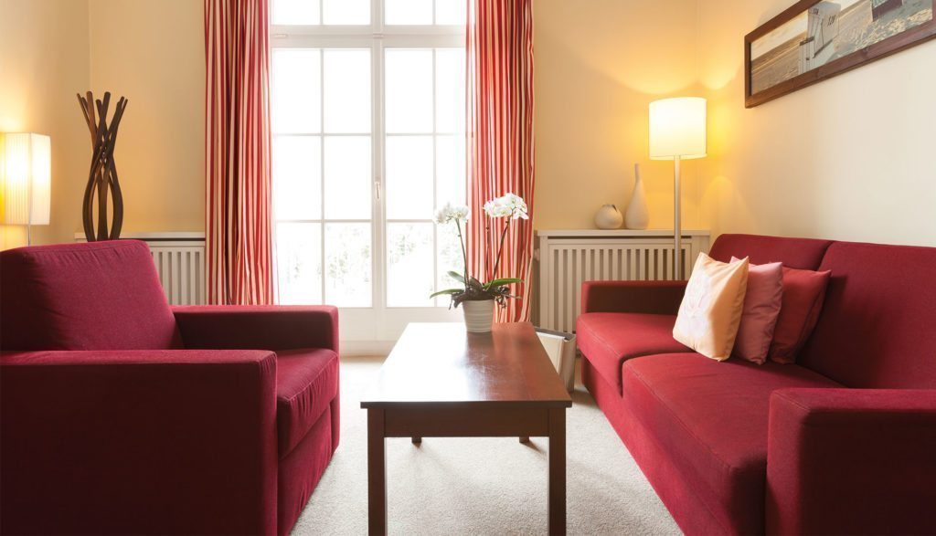 A-ROSA Travemünde Suite Deluxe Couch