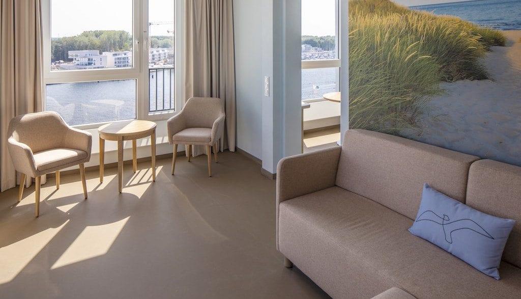 a-ja Travemünde Zimmer
