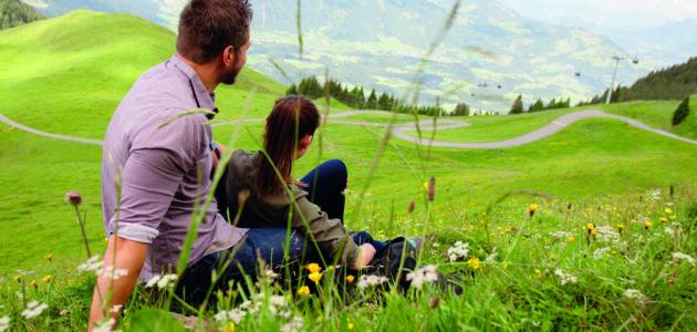 Kitzbühel Berglandschaft
