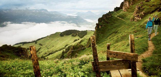 Kitzbühel Ausblick Berglandschaft
