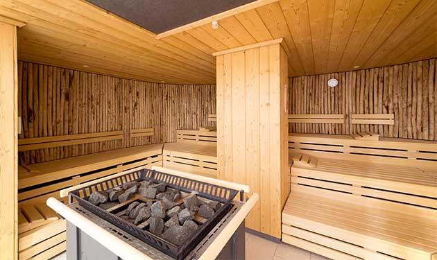 finnische Saune A-ROSA Scharmützelsee