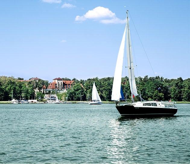 Scharmützelsee Segelboote