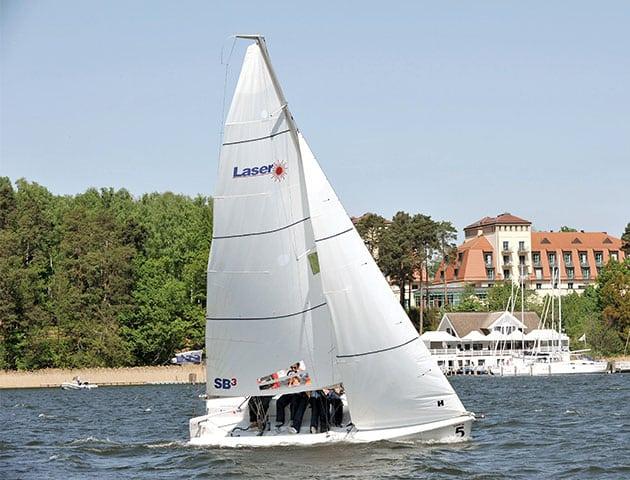 Segelboot Scharmützelsee