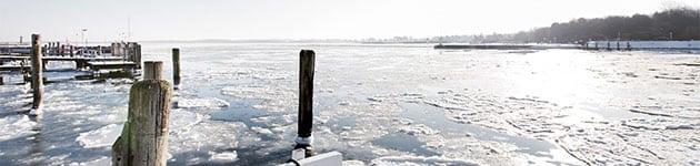 Ostsee Travemünde Winter