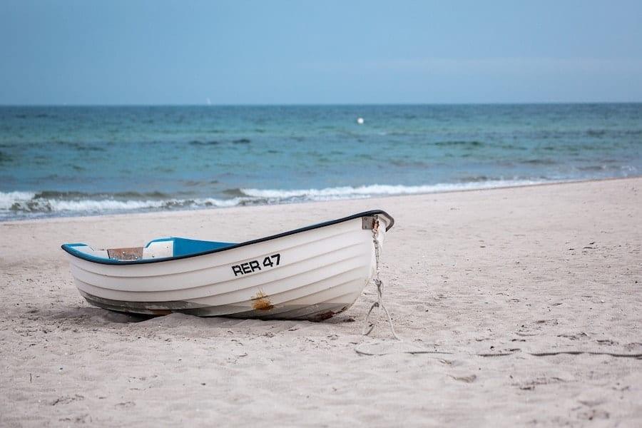 Ostsee Strand Boot