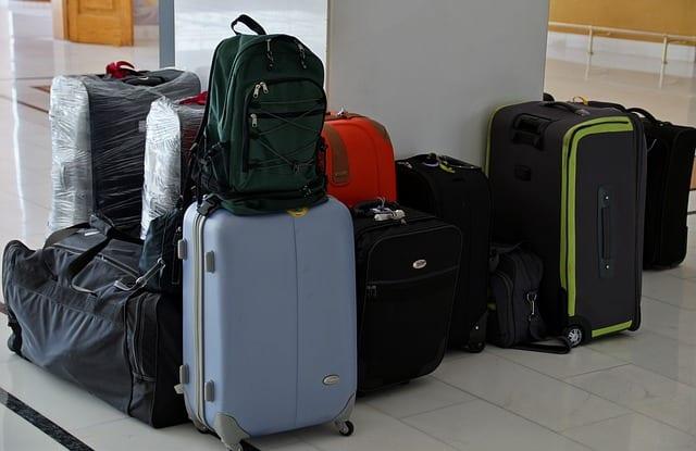 verschiedene Koffer