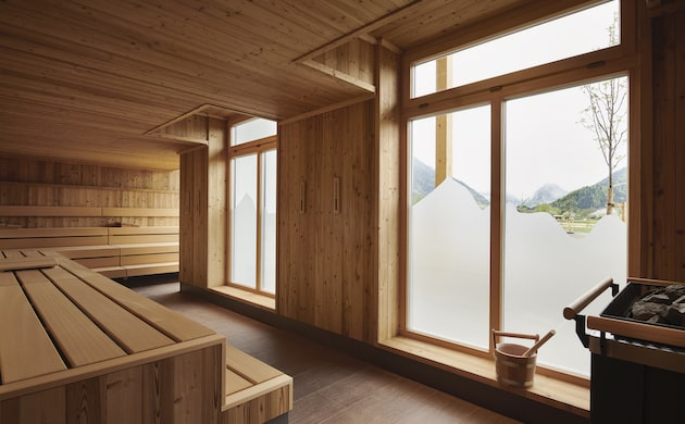 Finnische Sauna aja Ruhpolding
