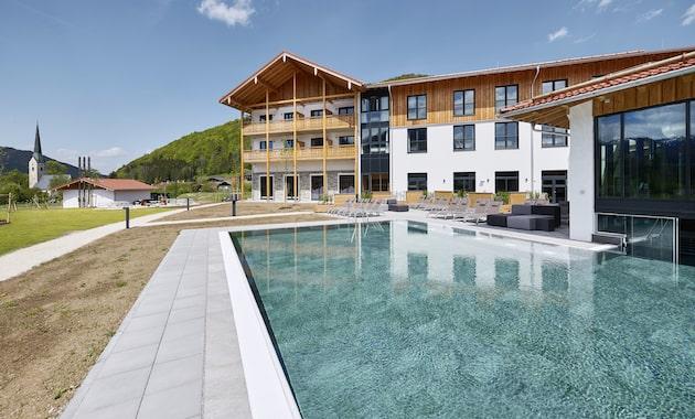 Terrasse & Pool aja Ruhpolding
