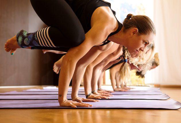 Yoga Gruppe