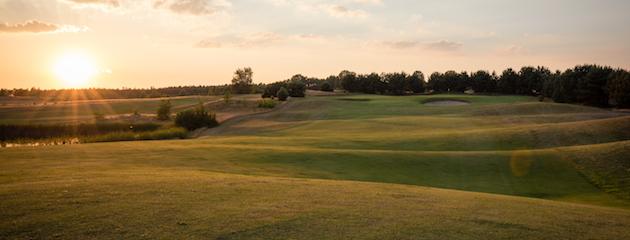 Bad Saarow Golfplatz, Sonnenuntergang
