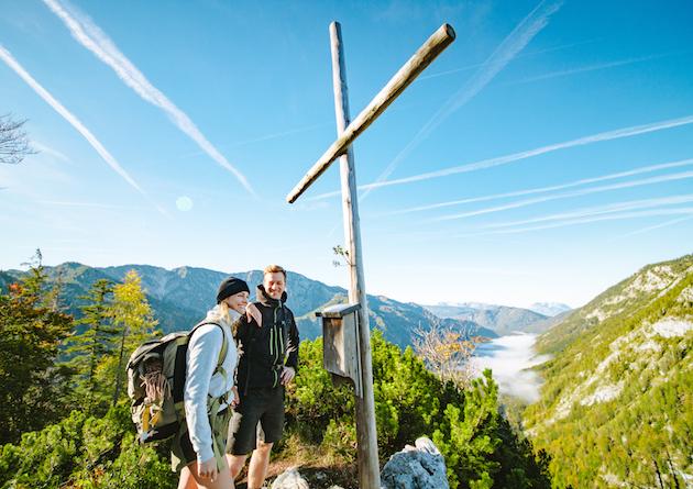 Gipfelkreuz Ruhpolding