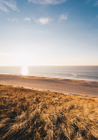 Strand Sylt Abendsonne