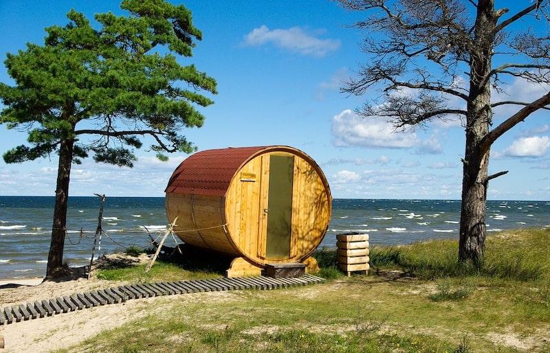 Fassauna an der Ostsee